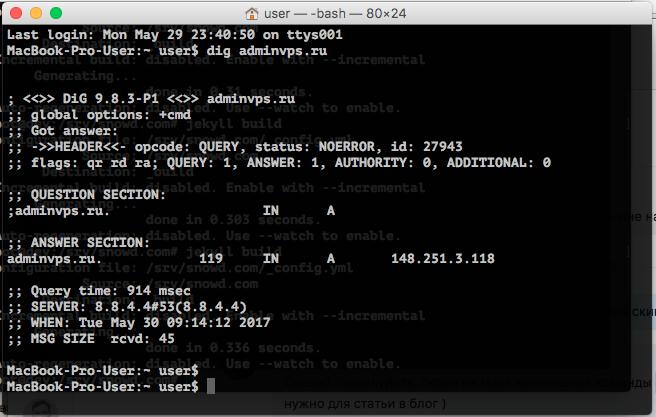 DNS запрос