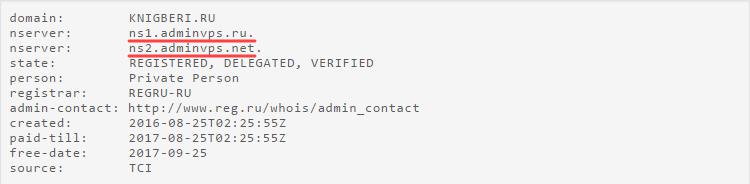 определить хостинг по домену