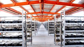 Запуск новой услуги размещение майнинг ферм