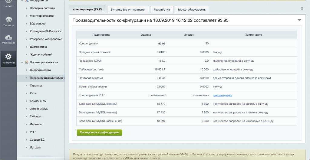 Тестирование Битрикс на php 7.1 + режим работы FastCGI